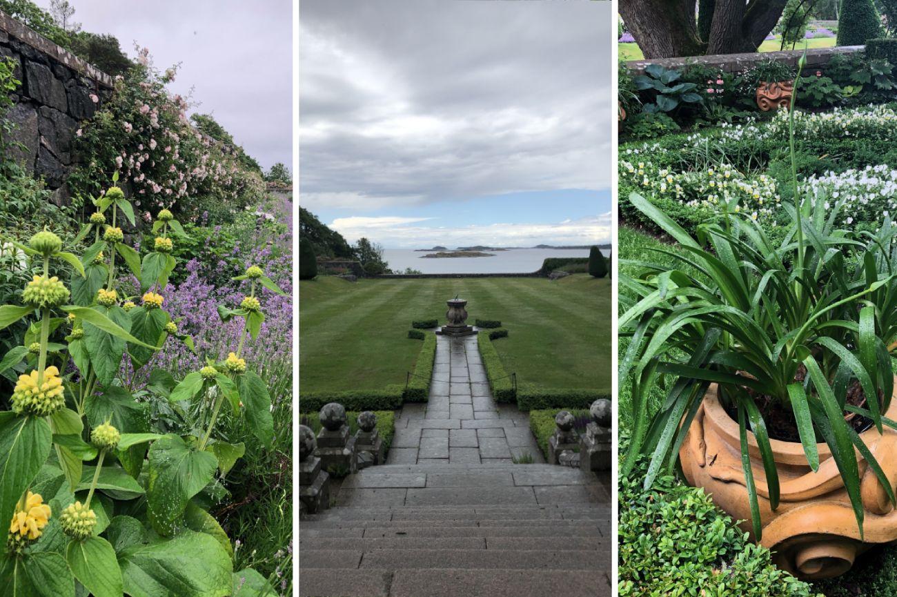 Trädgårdsinspiration på Tjolöholm